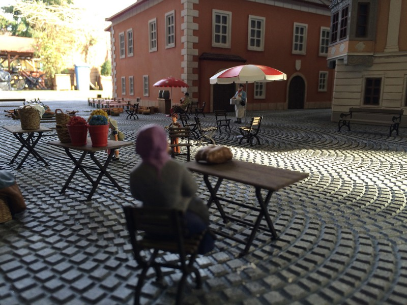 Sopron Főtér Makett