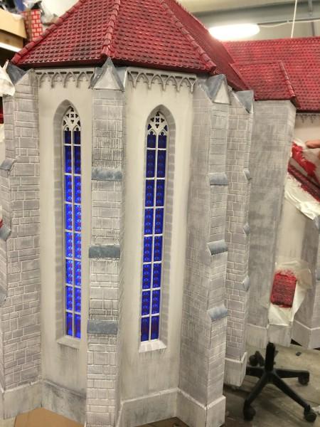 Sopron Szent Mihály Templom Makett Ablak