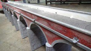 Hortobágyi Kilenclyukú Híd Makett