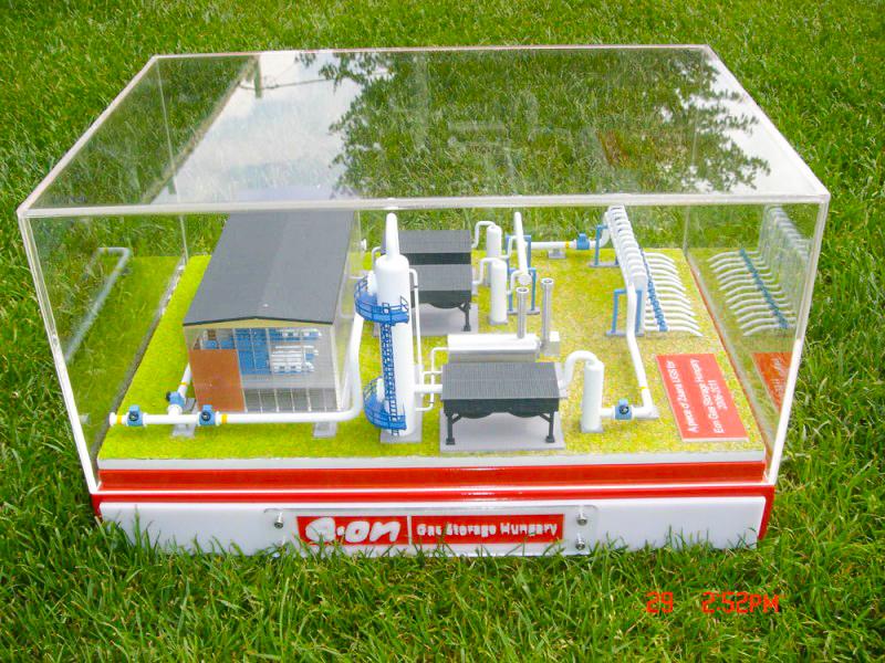 Eon Gáztározó Kicsinyített Modell
