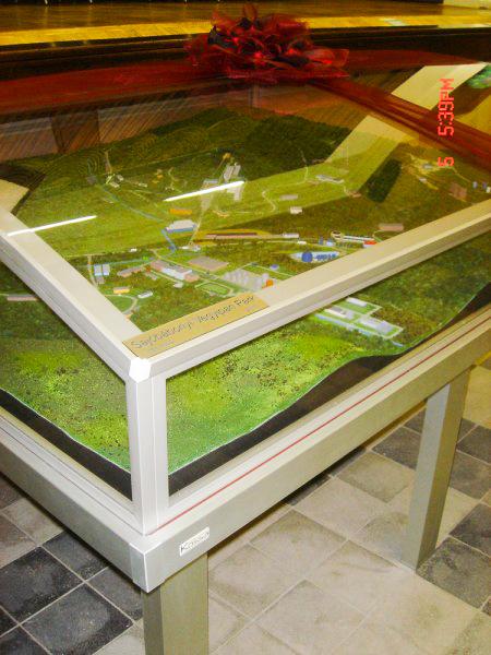 Sajóbábonyi Ipari Park Makett