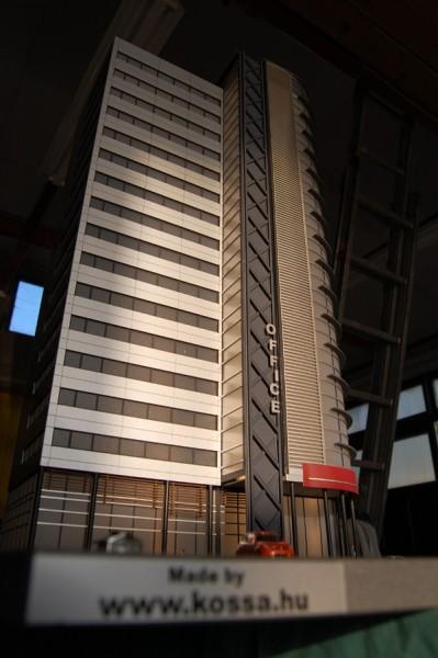 Kaluga Tower Makett