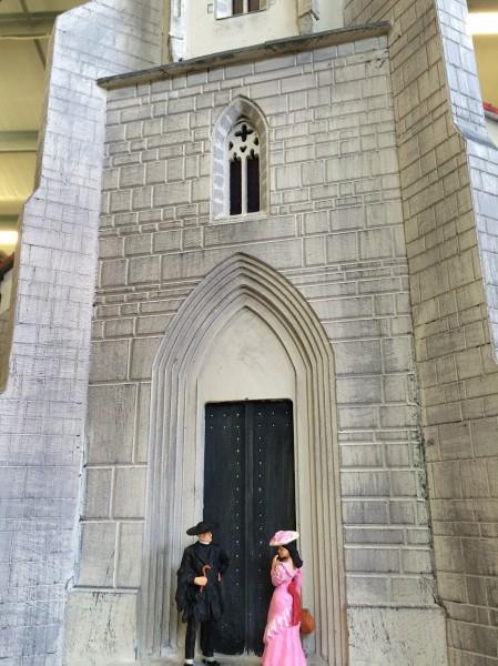 Soproni Szent Mihály Templom Makett