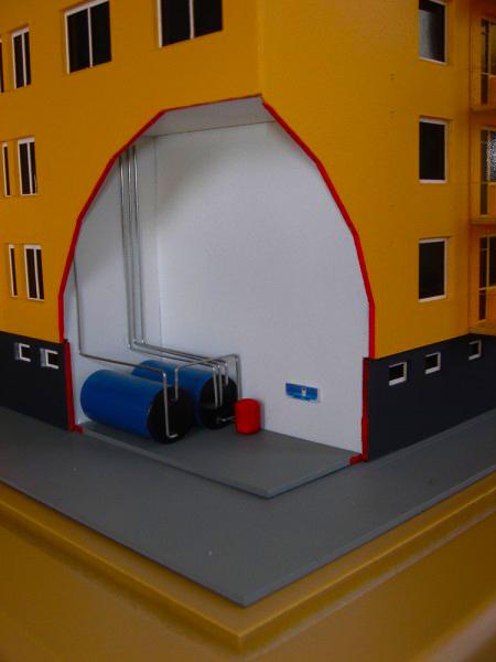 Megújuló Energia Társasház Makett