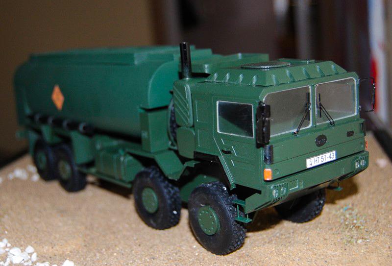 Schwarzmüller tartálykocsi modell/makett